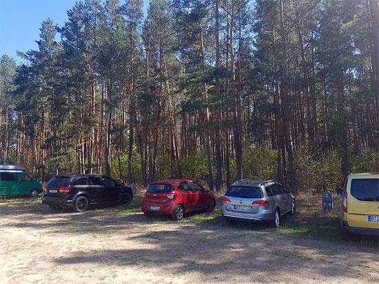 Die geheime Welt von Turisede: der Parkplatz