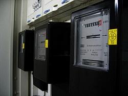 Foto eines Stromzählers