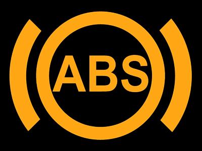 Symbol für ein Antiblockiersystem